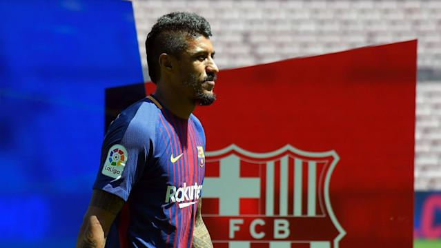 Thursday's shirt sales appear to indicate a lack of enthusiasm for the Brazilian signing, who was unveiled at the Camp Nou