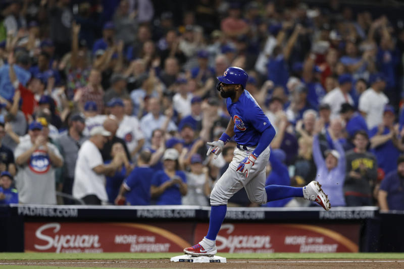 Cubs' wild-card lead cut, Padres walk off 9-8 in 10th
