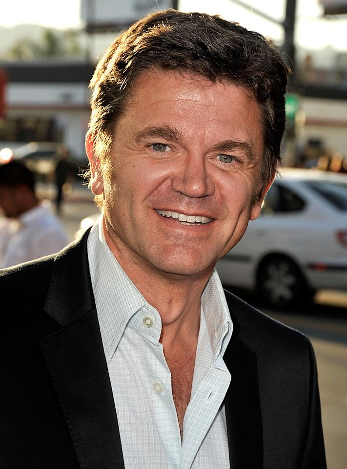"""<a href=""""http://movies.yahoo.com/movie/contributor/1800048306"""">John Michael Higgins</a> at the Los Angeles premiere of <a href=""""http://movies.yahoo.com/movie/1810021980/info"""">The Ugly Truth</a> - 07/16/2009"""