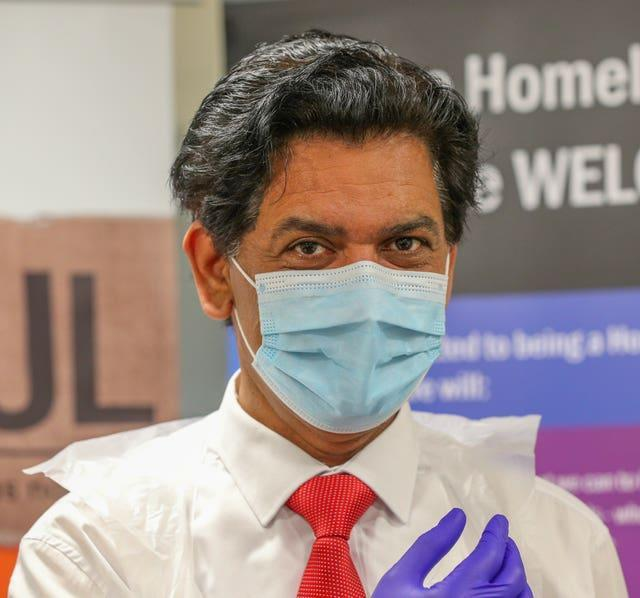 Zahid Chauhan, a GP from Oldham