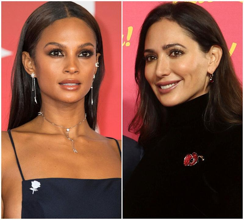 Alesha Dixon and Lauren Silverman (Photo: Rex)