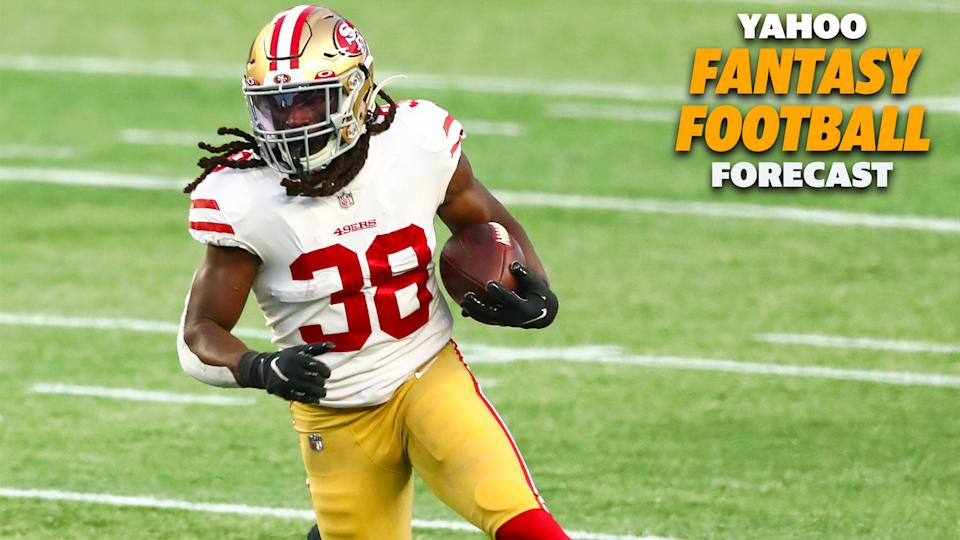 JaMycal Hasty is the next man up in the San Francisco backfield.