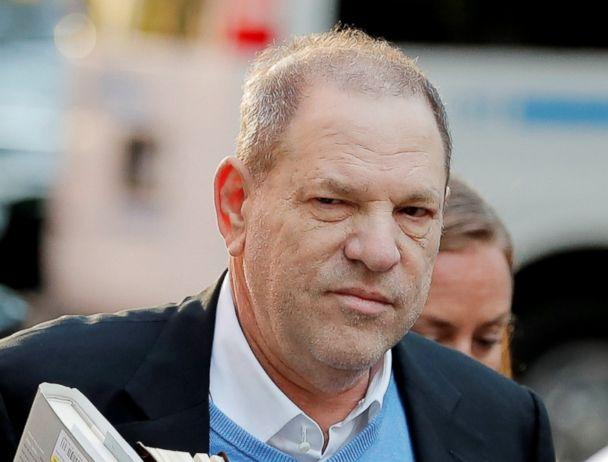 PHOTO: Film producer Harvey Weinstein arrives at the 1st Precinct in Manhattan in New York, May 25, 2018. (Lucas Jackson/Reuters)