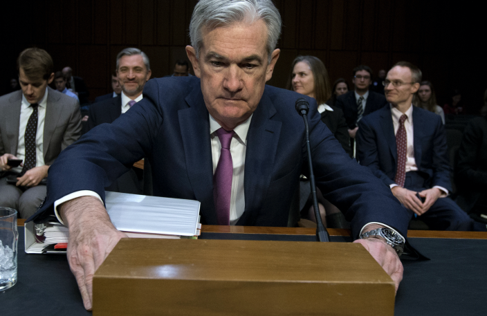 Federal Reserve Chair Jerome Powell. (AP)