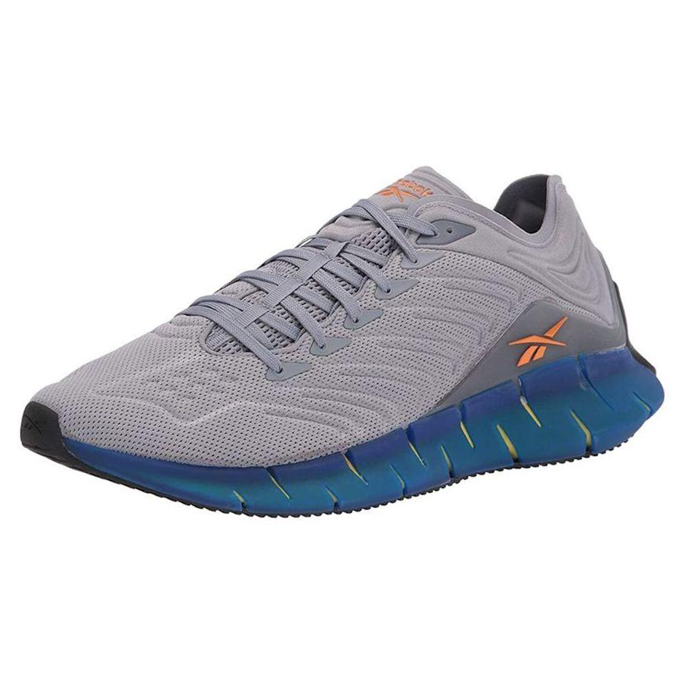 """<p><strong>Reebok</strong></p><p>amazon.com</p><p><a href=""""https://www.amazon.com/dp/B0855JV2G3?tag=syn-yahoo-20&ascsubtag=%5Bartid%7C2139.g.33501651%5Bsrc%7Cyahoo-us"""" rel=""""nofollow noopener"""" target=""""_blank"""" data-ylk=""""slk:BUY IT HERE"""" class=""""link rapid-noclick-resp"""">BUY IT HERE</a></p><p><del>$120</del><strong><br>$83.83 (30% OFF)</strong></p><p>Reebok's Zig Kinetica is a warm weather-friendly running shoe thanks to its seamless mesh upper, which lends breathability and ventilation. If you're after a running shoe that's comfy and cool looking in equal measure, these are a smart buy.</p>"""