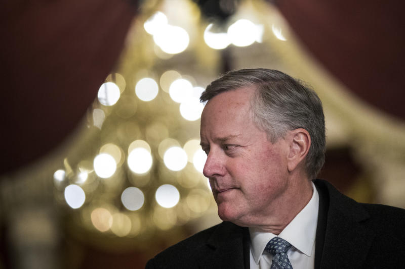 Rep. Mark Meadows (R-N.C.), chairman of the conservative House Freedom Caucus, warns that President Donald Trump could lose conservative support if he backs immigration reforms. (Drew Angerer via Getty Images)
