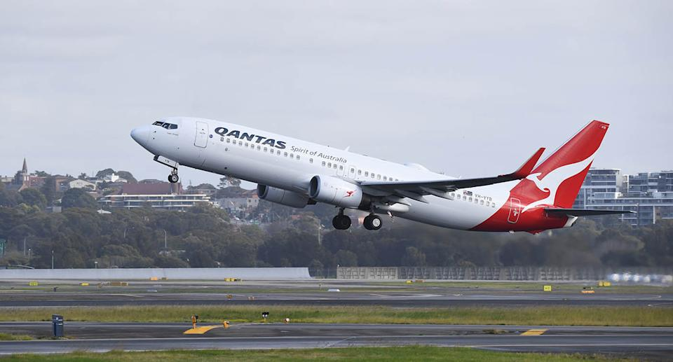 The man is believed to have infected a Qantas flight attendant. Source: Getty