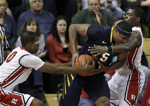 West Virginia beats Rutgers 85-64