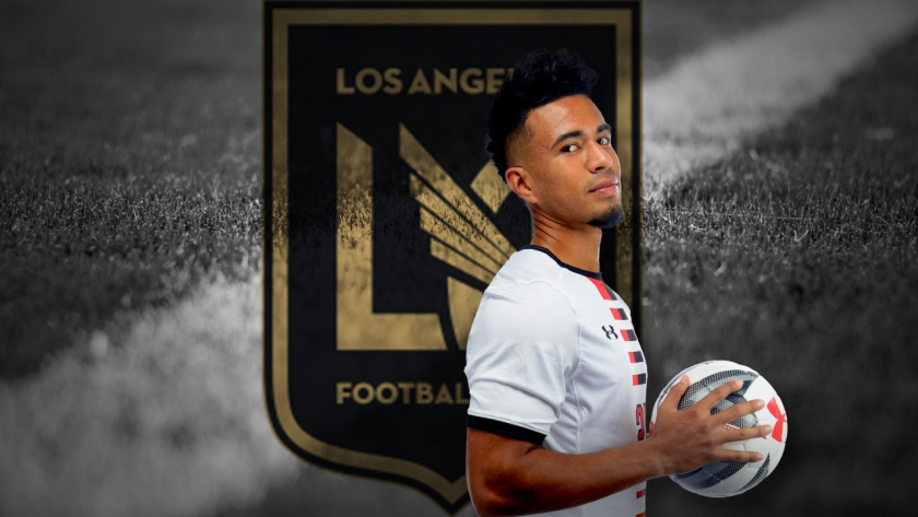 CSUN senior Daniel Trejo was selected No. 14 overall by LAFC in the MLS SuperDraft on Thursday.