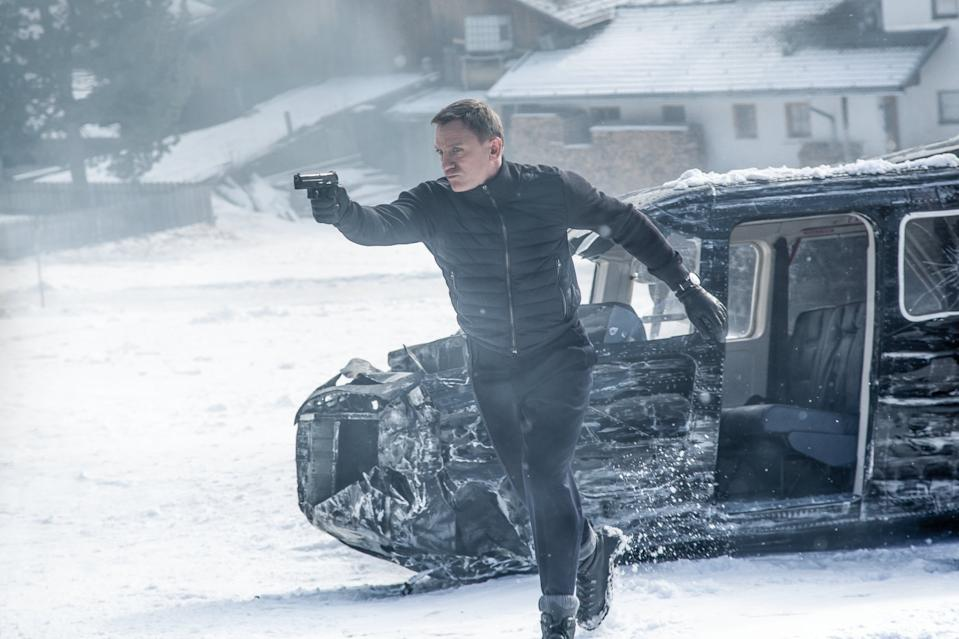 Daniel Craig as James Bond in Spectre (Credit: Sony Pictures/Eon)