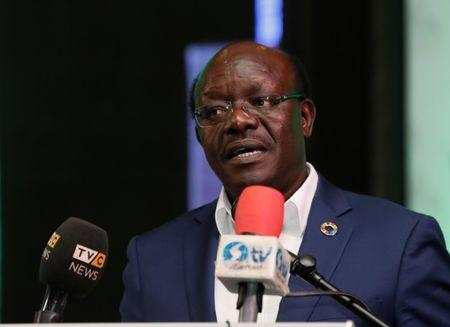 Mukhisa Kituyi, Secretary-General of the United Nations Conference on Trade and Development, speaks during the Nigeria/Ecowas Trade and Investment for Development forum in Abuja