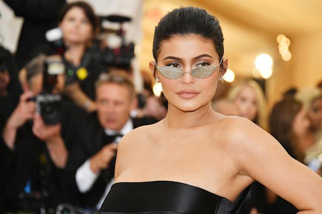 Kylie Jenner attends the Met Gala in May 2018. (Photo: Getty Images)