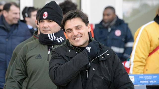 Vincenzo Montella has been given the backing of AC Milan's new owners despite speculation that he will be replaced at the end of the season.