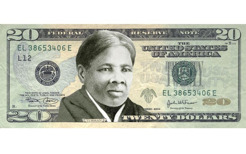 A mockup of how the $20 bill would have looked, under plans promoted by Barack Obama. Donald Trump's administration has shelved them