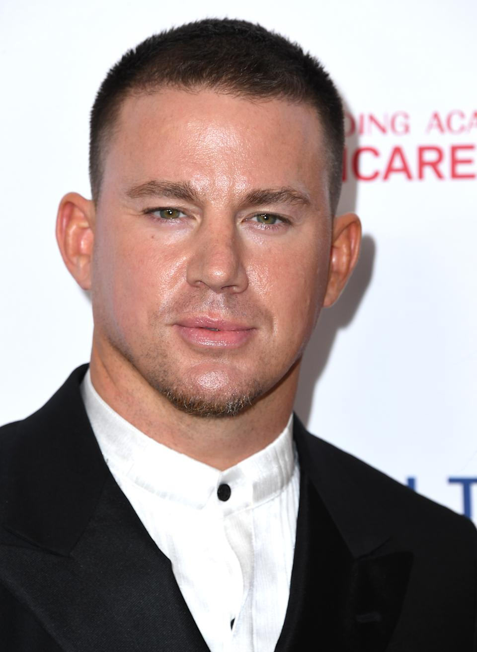 LOS ANGELES, CALIFORNIA - JANUARY 24: Channing Tatum arrives at the 2020 MusiCares Person Of The Year Honoring Aerosmith at West Hall At Los Angeles Convention Center on January 24, 2020 in Los Angeles, California. (Photo by Steve Granitz/WireImage)