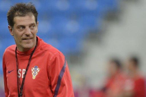 Croatian headcoach Slaven Bilic