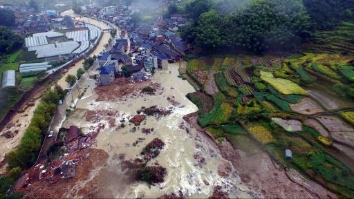 33 missing after China landslides: state media