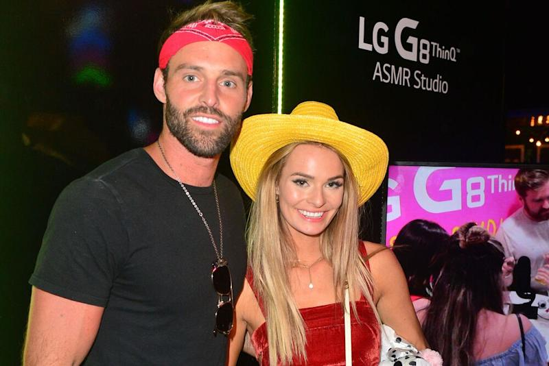 Robby Hayes and Juliette Porter   Jerod Harris/Getty Images