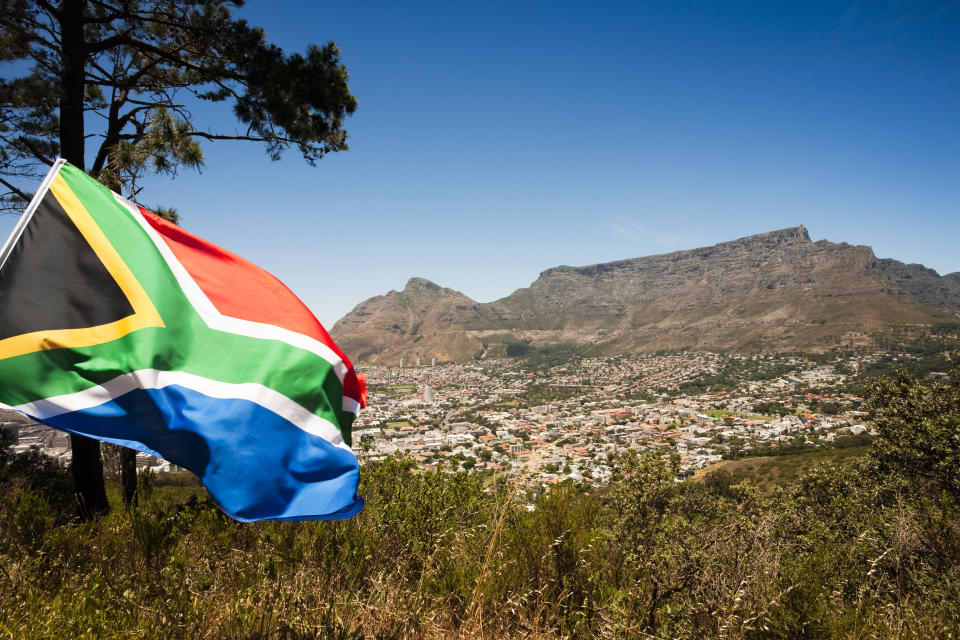 The new variant has been linked to South Africa. (Getty)