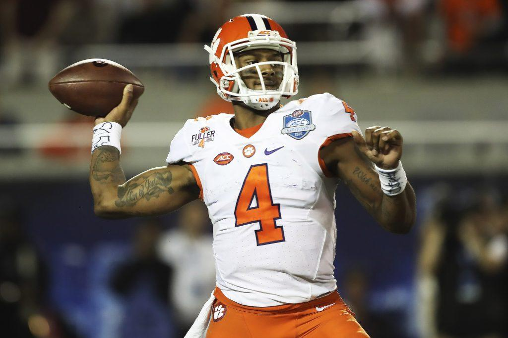 "<img width=""640"" height=""427"" alt=""Deshaun Watson, Clemson""/><p>The 2017 NFL offseason is officially underway, so you all know what that means: draft talk is heating up. With the return of draft season comes plenty of disagreements and arguments.</p> <p>The post <a rel=""nofollow"" rel=""nofollow"" href=""http://cover32.com/2017/02/15/2017-nfl-draft-polarizing-prospects/"">2017 NFL Draft: Five most polarizing prospects</a> appeared first on <a rel=""nofollow"" rel=""nofollow"" href=""http://cover32.com"">Cover32</a>.</p>"