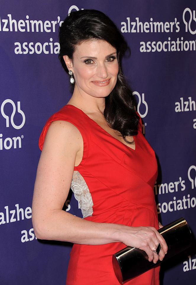 "Idina Menzel turns 40 Jordan Strauss/<a href=""http://www.wireimage.com"" target=""new"">WireImage.com</a> - March 16, 2011"