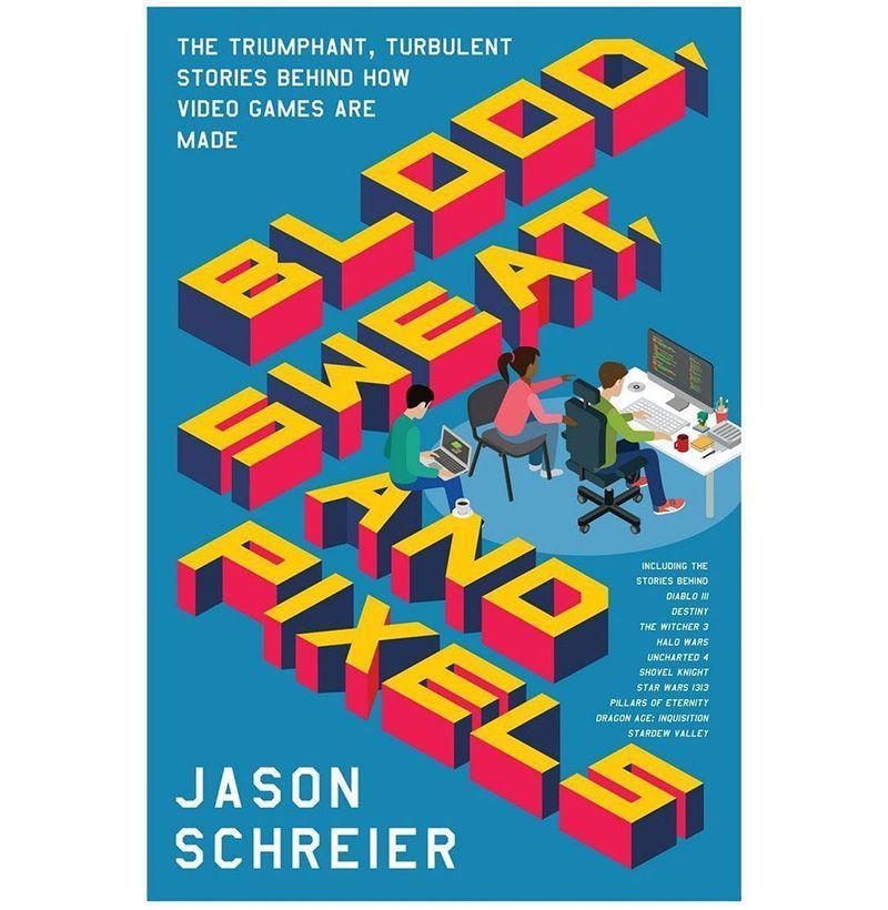"""<p><strong>By Jason Schreier</strong></p><p>amazon.com</p><p><strong>$14.78</strong></p><p><a href=""""http://www.amazon.com/dp/0062651234/?tag=syn-yahoo-20&ascsubtag=%5Bartid%7C10054.g.14381053%5Bsrc%7Cyahoo-us"""" rel=""""nofollow noopener"""" target=""""_blank"""" data-ylk=""""slk:Buy"""" class=""""link rapid-noclick-resp"""">Buy</a></p><p>Developing video games is no simple task. <em>Kotaku</em>'s Jason Schreier went in deep to tell the stories of what goes into bringing your favorite titles to life, from <em>Destiny</em> to <em>Dragon Age</em>. It's a must read for any true gaming geek.</p>"""