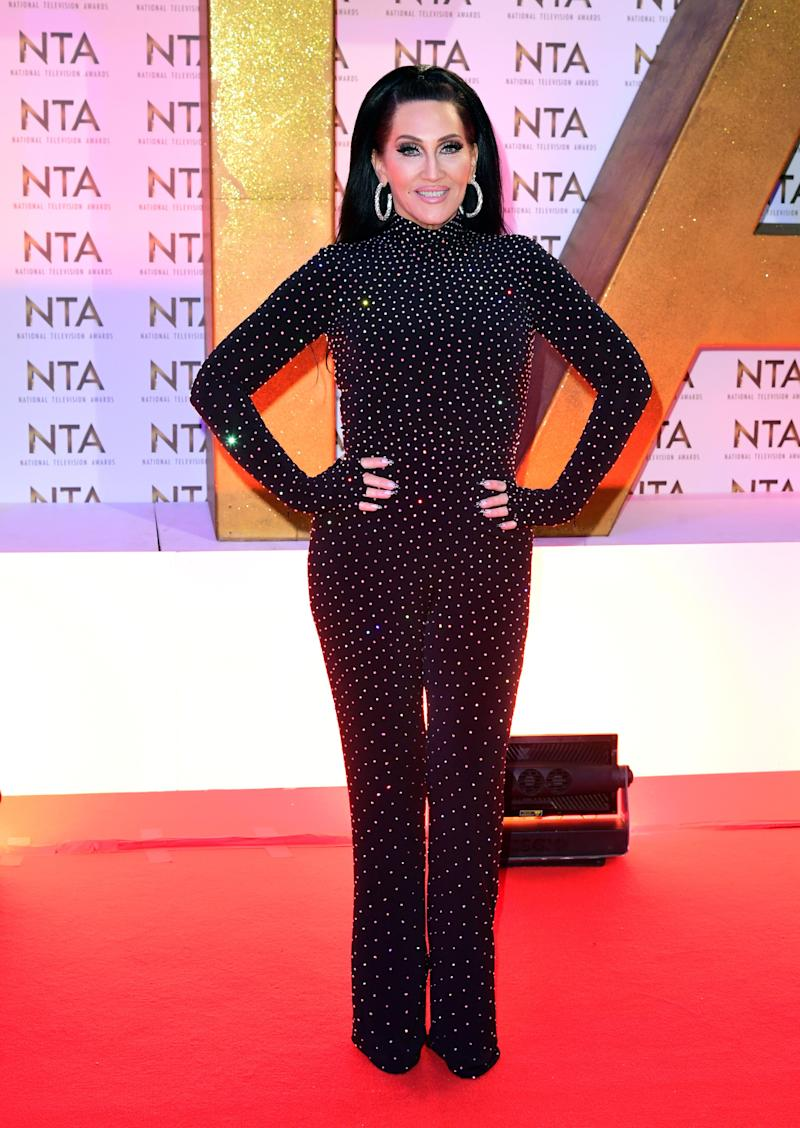 Michelle Visage during the National Television Awards at London's O2 Arena.