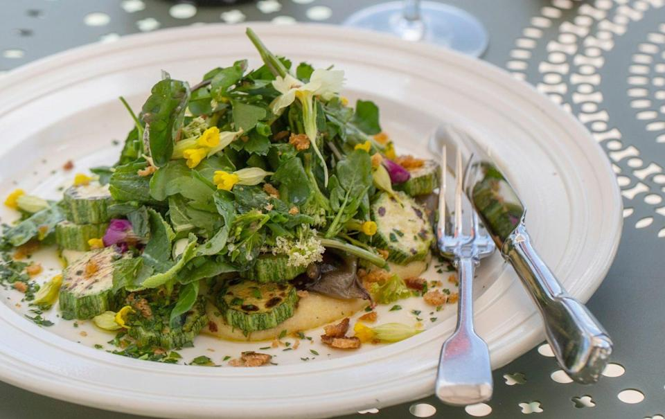 Summery and light, this easy dish can be a starter or main dish - Kirstie Young