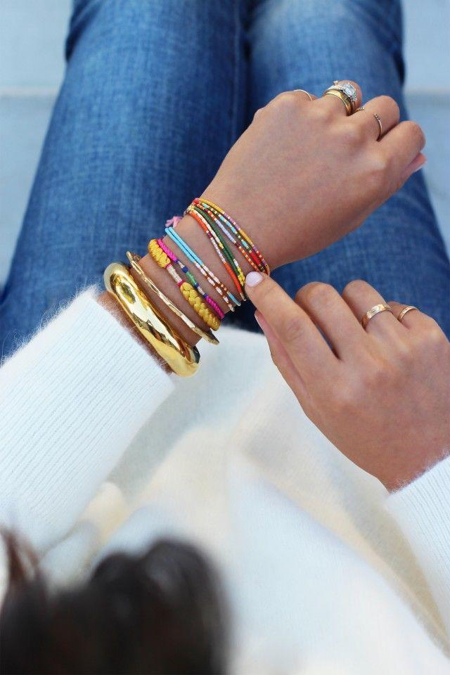 """<p><a rel=""""nofollow"""" href=""""http://www.drozthegoodlife.com/healthy-lifestyle/relationships-pets/advice/g369/mothers-day-momtras/"""">Give your mom a special message</a> in the form of these adorable Morse code bracelets. Who knew you could say so much through beads?</p><p>Get the directions from <a rel=""""nofollow"""" href=""""http://honestlywtf.com/diy/diy-morse-code-bracelets/"""">Honestly WTF</a>.</p>"""