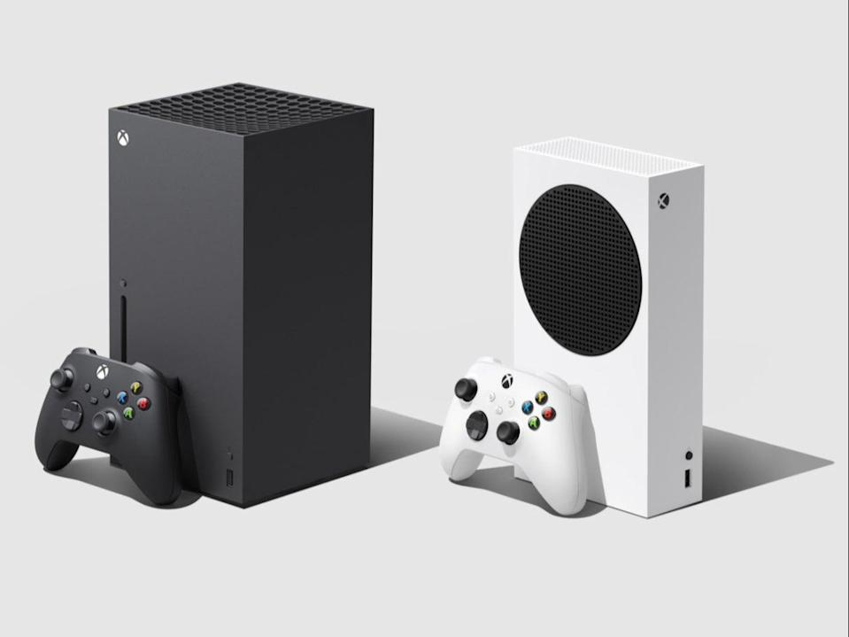 The Xbox Series X and S consoles, set to be released on 10 November (Microsoft)