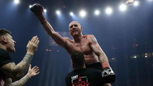 WBA super-middleweight champion George Groves is hopeful a shoulder injury will not keep him out of the World Boxing Super Series final.