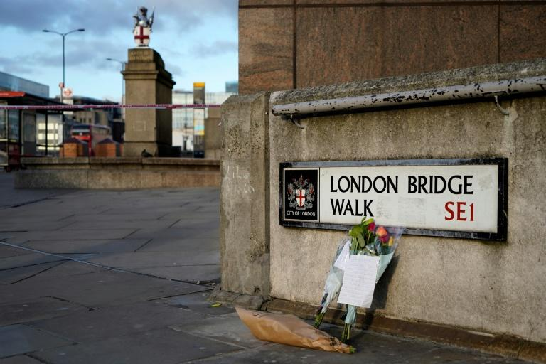 The incident comes two years after Islamist extremists in a van ploughed into pedestrians on the bridge before attacking people at random with knives (AFP Photo/Niklas HALLE'N)
