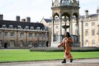 Black students like Wanipa Ndhlovu were have long been a rare sight in the UK's elite universities Oxford and Cambridge
