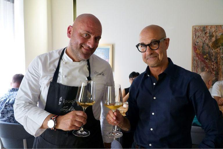 Stanley Tucci.  Searching for Italy, a successful CNN bet