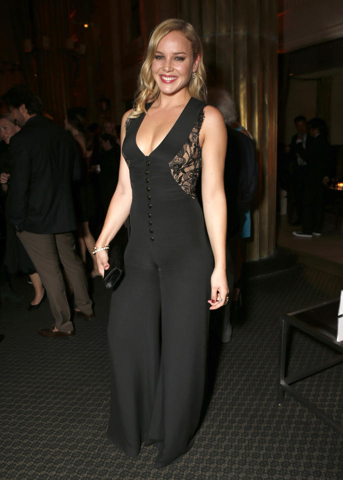 IMAGE DISTRIBUTED FOR INSTYLE - Abbie Cornish attends the 13th Annual InStyle and the Hollywood Foreign Press Association's Toronto International Film Festival Party on Tuesday Sept. 11, 2012. (Photo by Todd Williamson/Invision for InStyle/AP Images)
