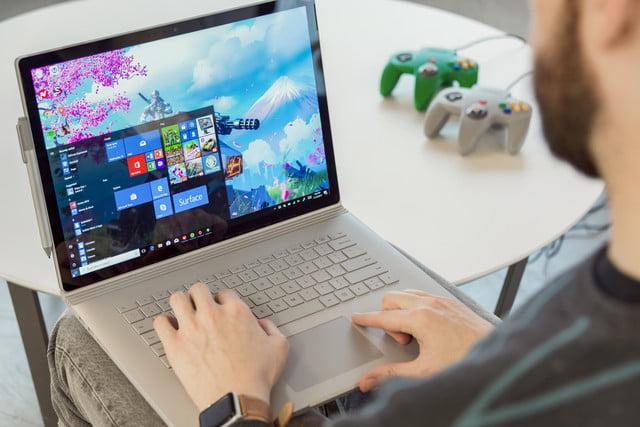 I tried using the Surface Book 2 as my only PC, and it let