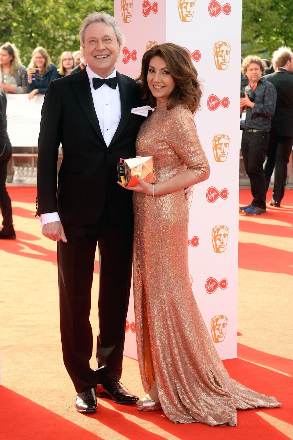 Eddie Rothe and Jane McDonald pictured at the TV Baftas in 2018 (Photo: Dave J Hogan via Getty Images)
