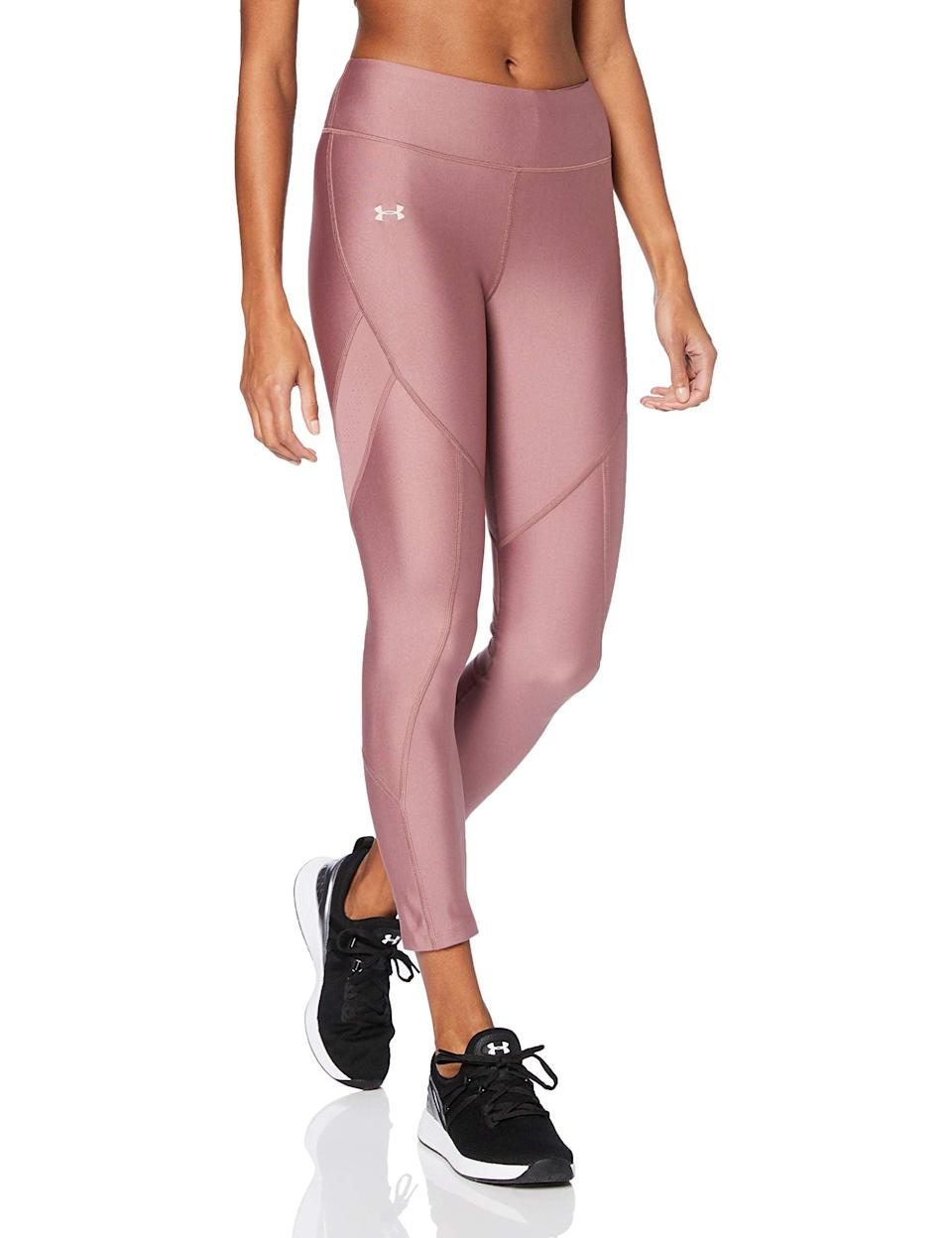 "<br><br><strong>Under Armour</strong> HeatGear Armour Novelty Ankle Crop Leggings, $, available at <a href=""https://amzn.to/314wcJ4"" rel=""nofollow noopener"" target=""_blank"" data-ylk=""slk:Amazon"" class=""link rapid-noclick-resp"">Amazon</a>"