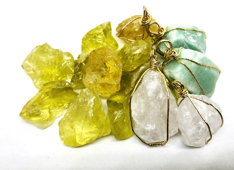 Amazonite and citrine crystals are believed to be the best advance crystals