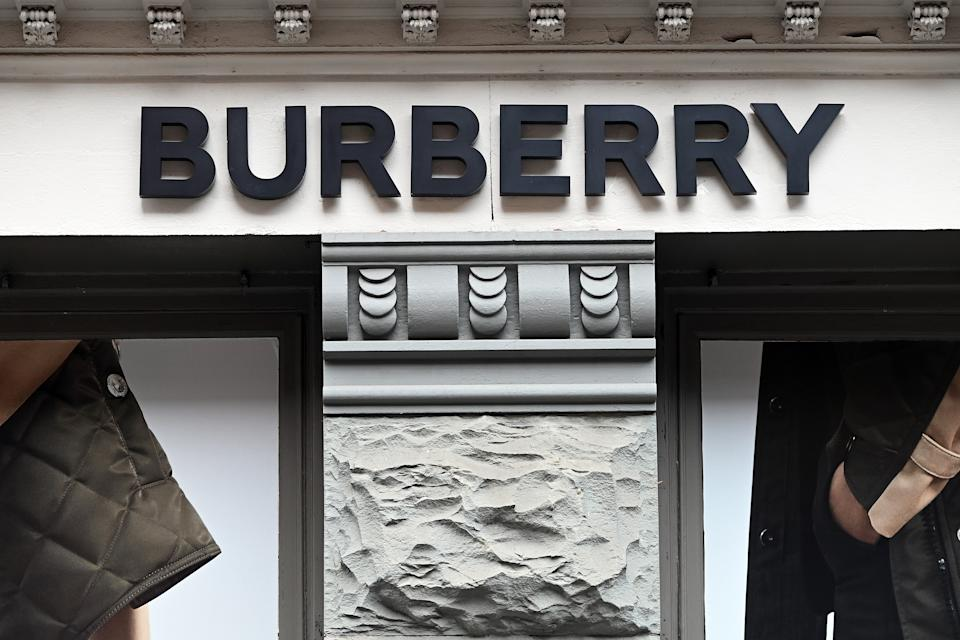 UK luxury fashion brand Burberry store in the Soho neighborhood of New York, US. Photo: Anthony Behar/Sipa USA/PA