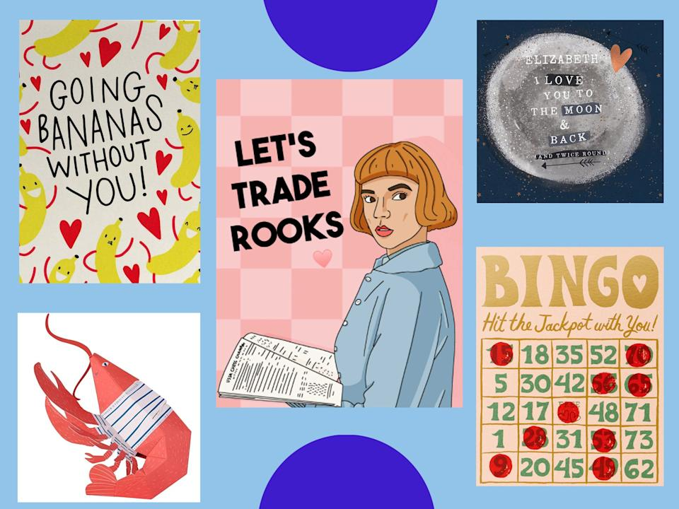 <p>Funny, quirky, romantic, 3D and personalised cards: we've got them all</p> ( The Independent)