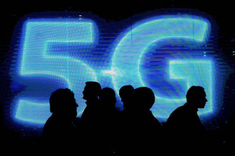 Abang Johari said once the 5G internet speed is achieved, the state government will create two gateways to link Sarawak with Asian countries, the United States and Europe. — AFP pic