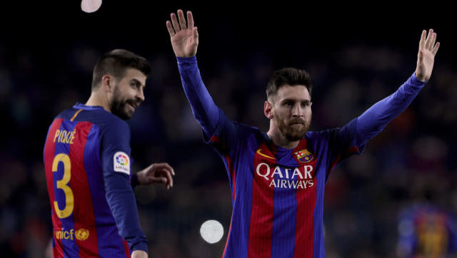 ​It's become apparent, due to a report supplied by Sport Bible, that Barcelona centre-half Gerard Pique is to be absent from Barca team-mate Lionel Messi's wedding. The pair, who have known one another since their formative days at La Masia, have had their hands tied regarding the matter, thanks to their significant others no less. According to Spanish paper El Pais, Messi's bride-to-be Antonella Roccuzzo has an on-going feud with Pique's partner Shakira. The report has stated that Roccuzzo...