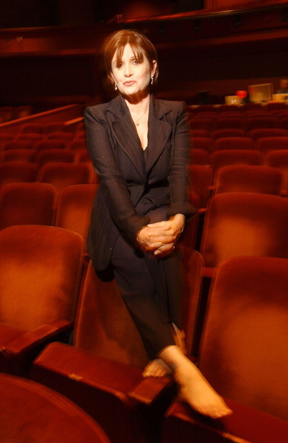 <p>Carrie headlined her own show, <em>Wishful Drinking</em>, at the Geffen Playhouse in Los Angeles. The show opened to rave reviews and ran from November 2006 until January 2007. It was later written into an autobiography non-fiction book of the same name.</p>
