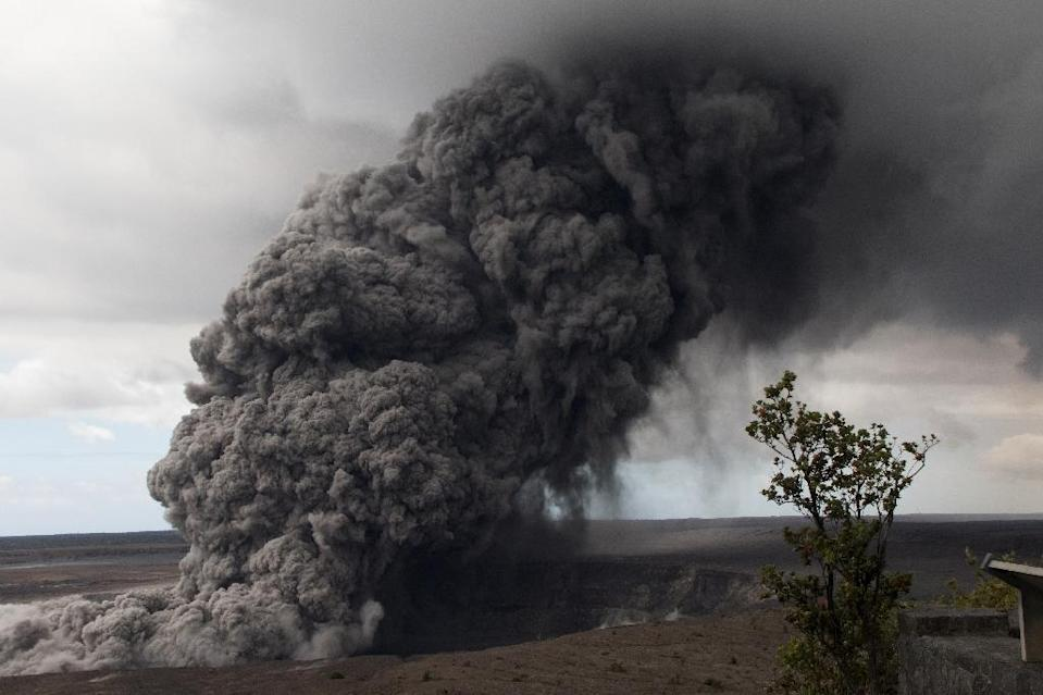 Kilauea is the world's most active volcano and one of five on Hawaii's Big Island (AFP Photo/Handout)
