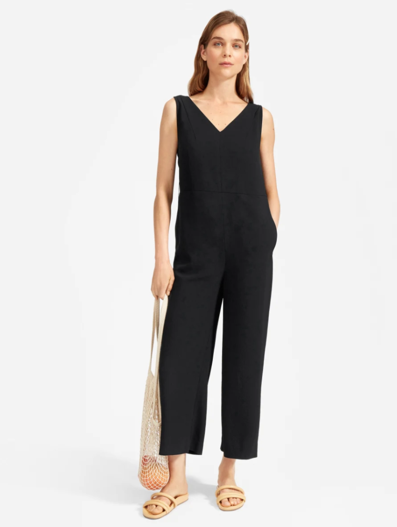 This versatile — and comfy — Everlane jumpsuit is Meghan Markle-approved. (Photo: Everlane)