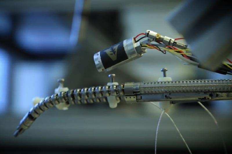 Snake robots will crawl up your nose to help surgeons perform surgery on you