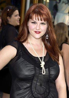 Premiere: Sara Rue at the LA premiere of Universal's The Hulk - 6/17/2003