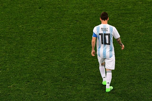 Argentina TV host holds a minute's silence after 3-0 defeat to Croatia at World Cup 2018