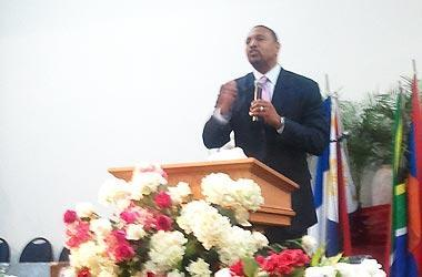 Jackson preaches at True Love Worship Center International. Jackson and his wife opened the church in Los Angeles two years ago